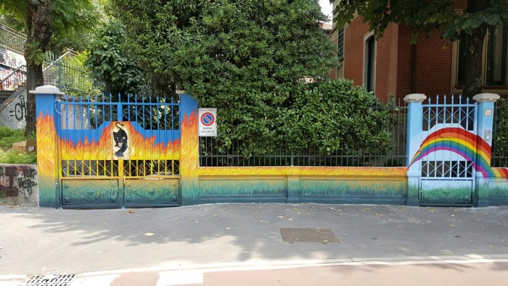 Murales a Milano (20mt lineari)