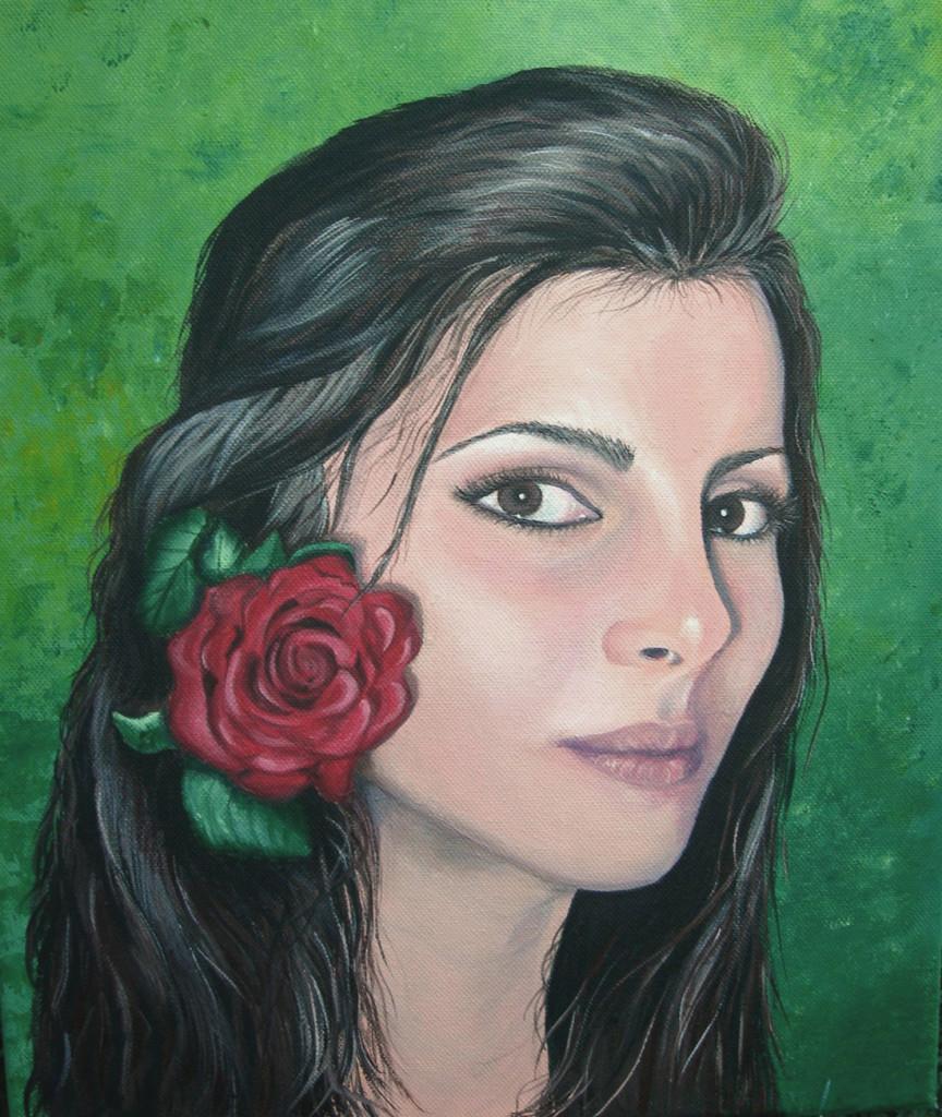 Chiara - Acrilico su tela 30x40